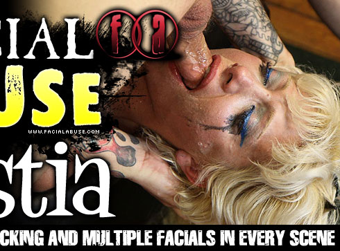 Facial Abuse Starring Nastia